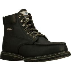 Men's Skechers Work Relaxed Fit On Site Torre ST Black