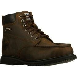 Men's Skechers Work Relaxed Fit On Site Torre ST Brown