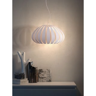 Polar Single-light White Ceiling Lamp