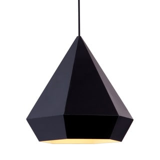 Forecast Single-light Black Ceiling Lamp