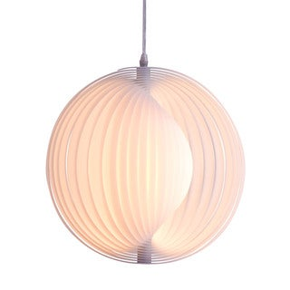 Galileo Single-light White Ceiling Lamp