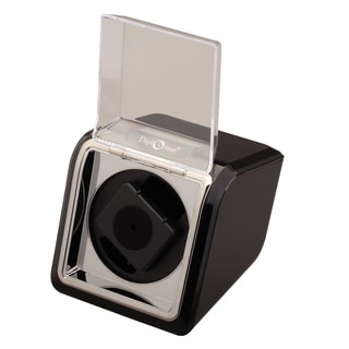 Diplomat Economy Single High Gloss Black Finish Watch Winder
