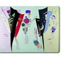 Wassily Kandinsky 'Reciprocal Accords' Oil on Canvas Art