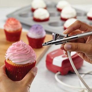 Cake Boss Red Decorating Tools Airbrushing Kit