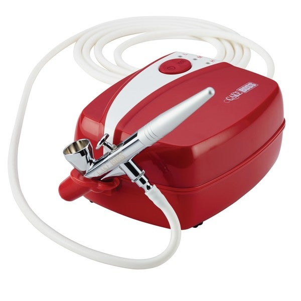 Paasche Airbrush Cake Decorating : Cake Boss Red Decorating Tools Airbrushing Kit - 16242860 ...