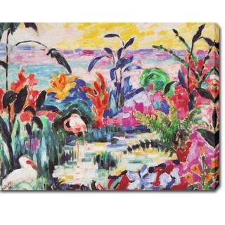 Jean Metzinger 'Les Ibis Artist' Oil on Canvas Art