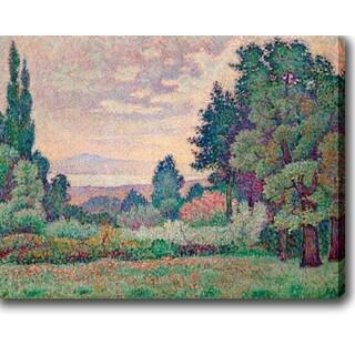 Jean Metzinger 'Paysage aux deux Cypres' Oil on Canvas Art