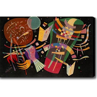 Wassily Kandinsky 'Composition X' Oil on Canvas Art