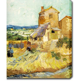 Vincent van Gogh 'The Old Mill' Oil on Canvas Art