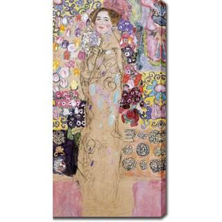 Gustav Klimt 'Portrait of Maria Munk' Oil on Canvas Art