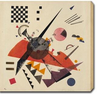 Wasilly Kandinsky 'Orange' Oil on Canvas Art