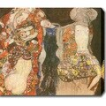 Gustav Klimt 'The Bride' Oil on Canvas Art