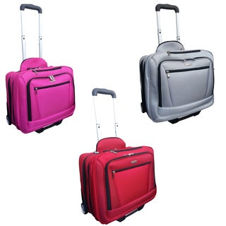 Checkpoint Friendly 14.5-inch Rolling Carry-on Laptop Case