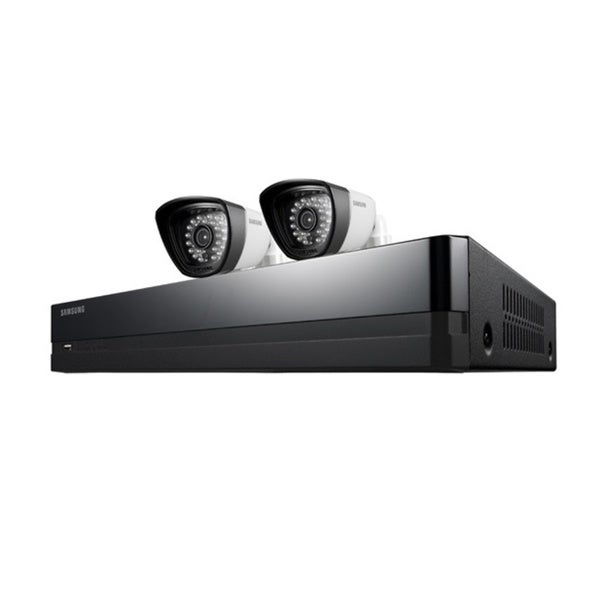 Samsung 2 Camera, 4 Channel DVR Security System