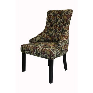 HLW Kantoi Luxury Dining Chair Tulip Floral (Set of 2)