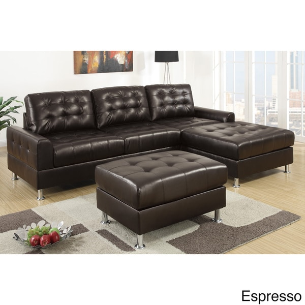 Serres Classic 2-piece Sectional Sofa With Ottoman