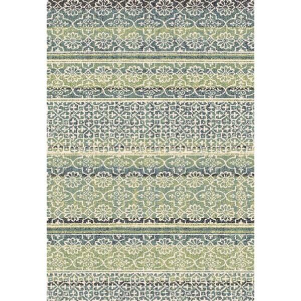 Eternity Striped Moroccan Rug (7.10' x 11.2') -  Dynamic Rugs