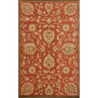 Paragon Copper Wool Rug (8' x 11')