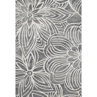 Mida Black/ White Area Rug (8' x 11')