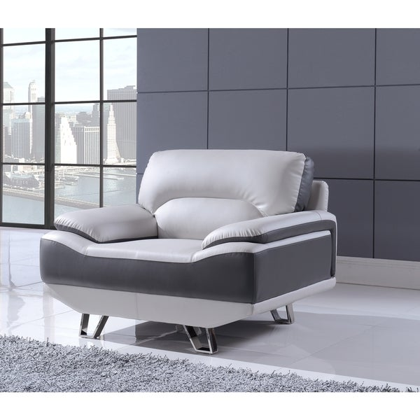 Natalie Two-tone Grey Chair