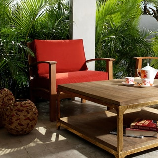 Abbyson Living Semeru Deepseater Outdoor Armchair