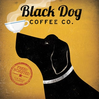 Ryan Fowler 'Black Dog Coffee Co.' Fine Art Giclee Print