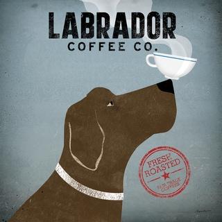 Ryan Fowler 'Labrador Coffee Co.' Fine Art Giclee Print
