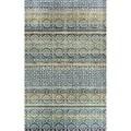 Eternity Striped Moroccan Rug (5.3' x 7.7')