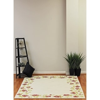 Eternity Rose Garden Rug (6.7' x 9.6')
