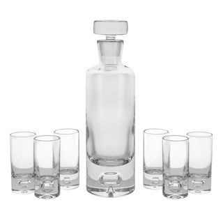 Galaxy Shot Clear Glass 7-piece Set