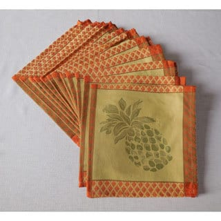 Tommy Bahama Pineapple Jacquard Napkins (Set of 12)