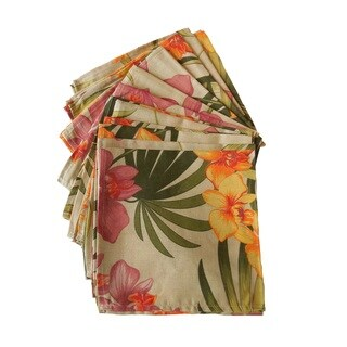 Tommy Bahama African Orchid Napkins (Set of 12)