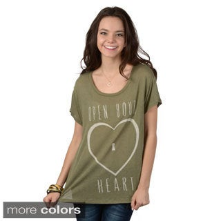 Hailey Jeans Co. Junior's Short-sleeve Graphic Tee