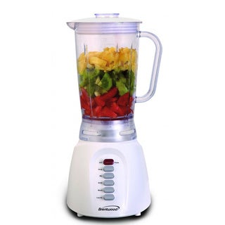 Brentwood JB-206 White 6-Speed Blender