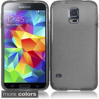 INSTEN Colorful Frosted TPU Gel Soft Skin Cover Phone Case Cover for Samsung Galaxy S5 SV