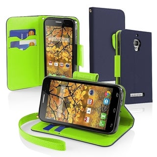 BasAcc PU Leather with Card Slot Cover Case for Alcatel One Touch Fierce