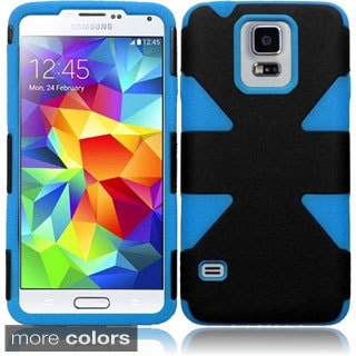 BasAcc Dynamic Slim Hybrid Hard Skin Cover Case for Samsung Galaxy S5/ SV