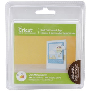 Cricut Shape Cartridge-Small Talk Frames & Tag