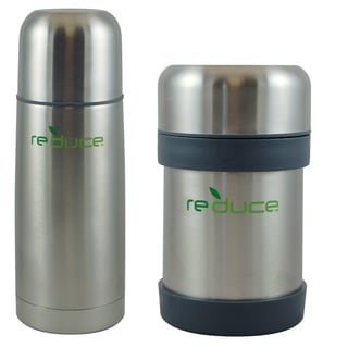 17-ounce Insulated Flask and 10-ounce Insulated Food Jar Set
