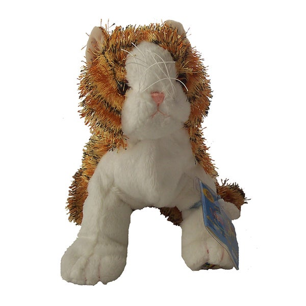 Webkinz Large Striped Alley Cat Plush Animal