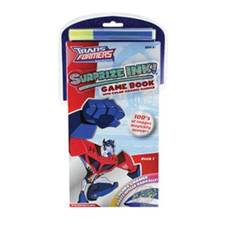 Transformers Surprise Ink Game Book