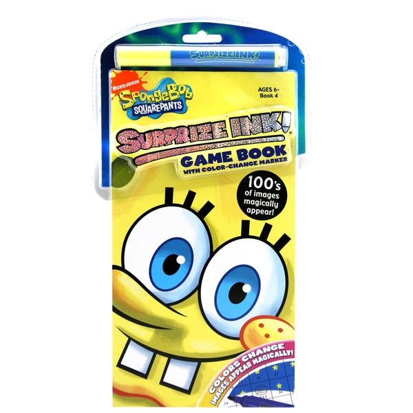 SpongeBob Surprize Ink Book