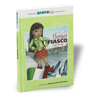 Karito Kids Florence Fiasco Adventure Book