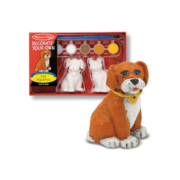 Melissa and Doug Decorate Your Own Pet Figurine 12959641