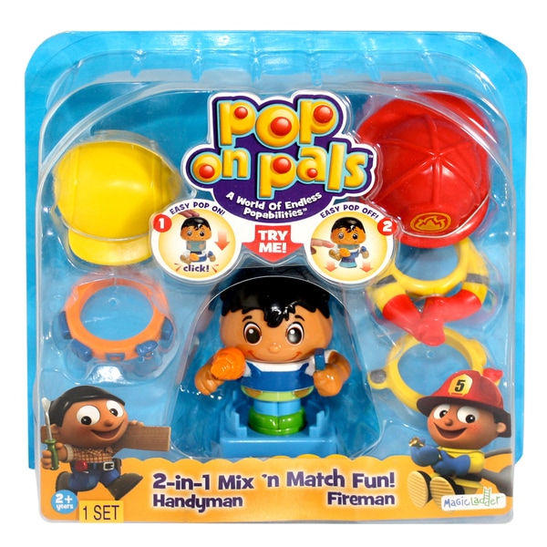 Pop On Pals Fireman and Handyman 12959659