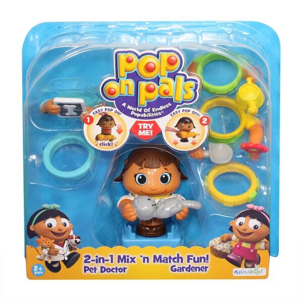 Pop On Pals Pet and Gardener 12959662