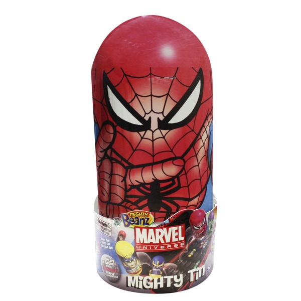 Mighty Beanz Spiderman Tin 12959665