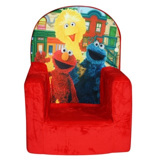 Seseame Street Block Party High Back Chair