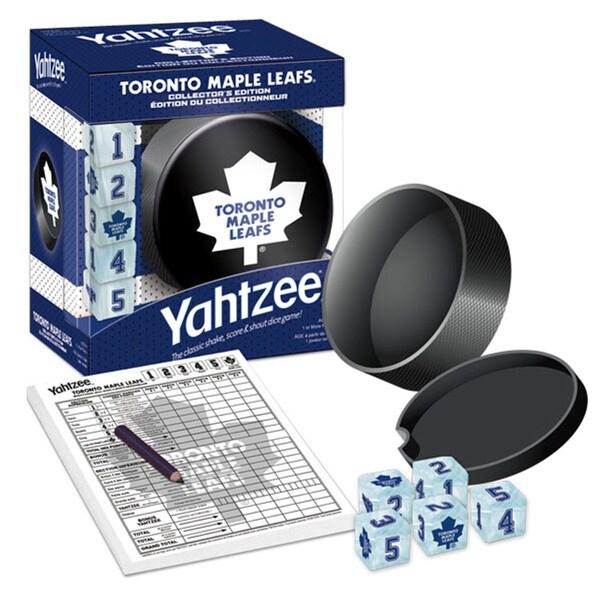 Toronto Maple Leafs Yahtzee 12959671