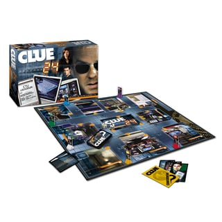24 Clue Board Game